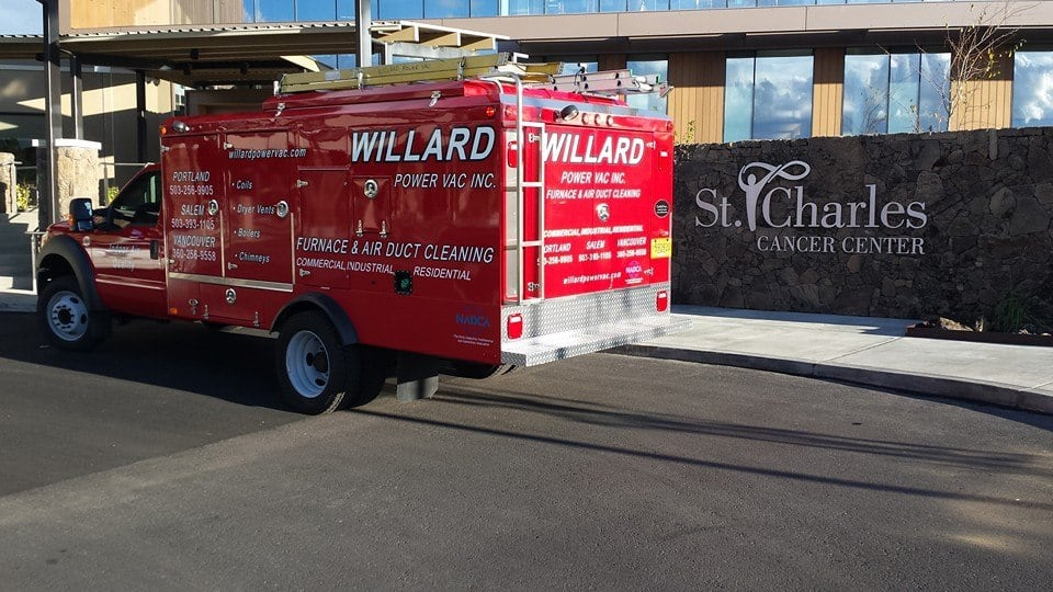 Willard Power Vac Truck