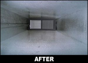 clean ducts after service